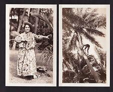 c1950 real photo set of 14 miniature Honolulu Hawaii packet postcard