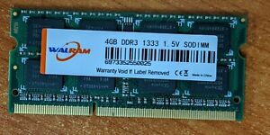 DDR3 4GB SO-DIMM RAM for Laptop (2 units; total 8GB)