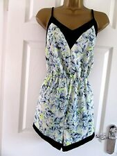 """NEW.W.O.T FABULOUS  PLAY SUIT BY FASHION UNION  UK-12-14 BUST 40"""" LENGTH 30"""""""