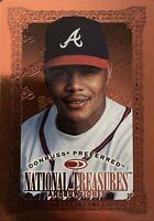 1997 Donruss Preferred National Treasures Andruw Jones Atlanta Braves NM Con