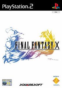 Final Fantasy X (Sony PlayStation 2, 2002) PS2