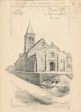 Eglise de SAINT-MENOUX (Allier) 1894 - Raguenet Architecture - 27