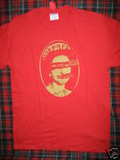 New Red God Save The Queen 2 Sided T Shirt London UK Street Art Punk Rocker XL