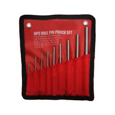 9 pc IIT Roll Pin Pilot Punch Set Punches Tools Case Removing Gun Tools 21135