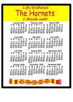2020 Calendar mouse mats for football fans - UK teams starting with T to Y