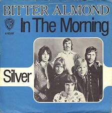 """7"""" BITTER almond – in the Morning/silver // Germany 1970"""