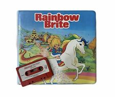 Rainbow Brite Vtg 1983 -Rare- Take A Tape Along Cassettes Books Case Case Only