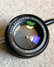 Revuenon 50mm f1.4 Pentax K Mount