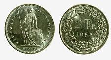pcc2098_5) Svizzera  Switzerland  Helvetia - 2 Franchi Francs 1965 B