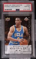 2008 Russell Westbrook Upper Deck First Edition #262 Rookie RC PSA 10 *POP 23*📈