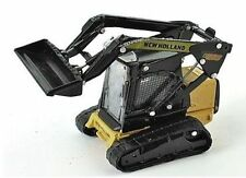 New Holland C185 Tracked Skid Loader 1/87th Scale = H0 - Yellow/Black - T48 Post