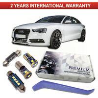 Audi A5 LED Interior Kit Premium 16 SMD Bulbs White Error Free CANBUS SET