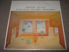 STEVE KHAN Casa Loco SEALED New Vinyl LP Anthony Jackson Jordan Manolo Badrena