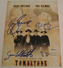 TOMBSTONE Movie AUTOGRAPHED Photograph SIGNED By RUSSELL KILMER PAXTON ELLIOTT