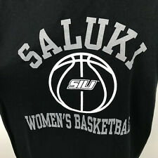Southern Illinois Salukis Womens Basketball Ncaa T Shirt Adult L Black 50/50