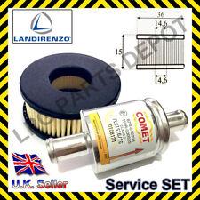 LPG LANDIRENZO solenoid filter cartridge gas liquid service IG1 reducer MED gpl