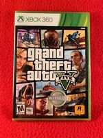 Grand Theft Auto GTA V 5 Microsoft Xbox 360 BRAND NEW SEALED 2013 Rockstar USA