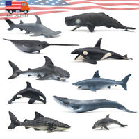 Wild Sea Animal Shark Model Toys Collector Decoration Gift Educational Model