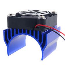 RC 540 550 Motor Alum Heat Sink 40x36mm Cooling Fan 5-7.4V HSP 7020 Navy Part
