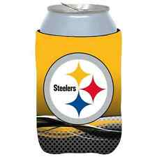 Pittsburgh Steelers 2015 Hunter Mfg Nfl 12oz Can Coolie Free Ship