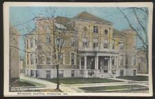 Postcard PRINCETON Indiana/IN  Methodist Hospital Building 1910's