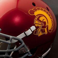 USC TROJANS NCAA Authentic FULL SIZE Football Helmet DECALS / STICKERS