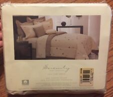 1999 SERENITY HOME COLLECTION NEW Full FLAT SHEET RESILIENCE TAN USA MADE