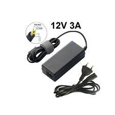 Notebook Laptop Ladegerät Netzteil Ladekabel 12V 3A - Stecker 4.8 x 1.7mm