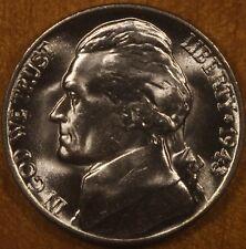 1943 P Jefferson Silver Nickel  GEM BU FREE SHIPPING