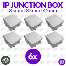 6 x CCTV Junction Box Outdoor Weather proof IP IP55 Terminal box for connection