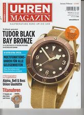 UHREN Magazin 2017 Watchstars Tudor Black Bay Bronze Titanuhren IN GERMAN 2017