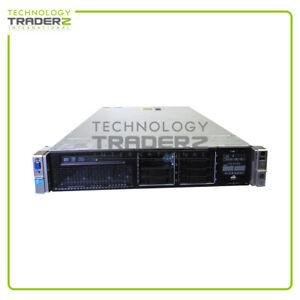 HP Proliant DL380P G8 2P Xeon 2667 6-Core 2.90Ghz Server w/ 2x Riser Card 2x HBA