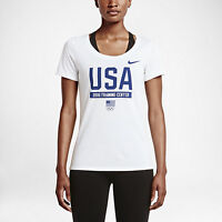 Nike Women's Dri Fit Team USA Olympic Training Center T Shirt  Medium Large