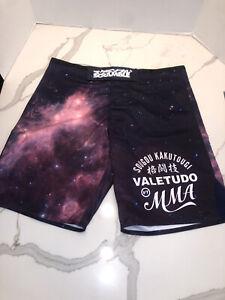 Scramble 'Galactica' Shorts Valetudo MMA BJJ Grappling Jiu Jitsu Sz XL