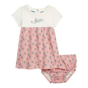Mini Boden Baby Dress, Cherry Berry