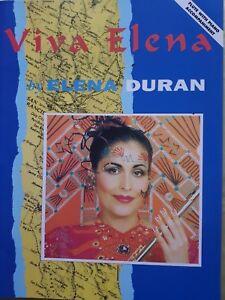 Viva Elena by Elena Duran (Flute with Piano Accompaniment Book) MINT CONDITION!