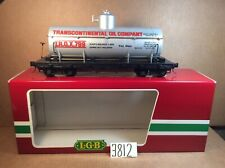 LGB 4080-Y01 TROX Transcontinental Oil Company Single Dome Tank Car #799 OB