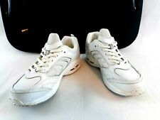 Shoes for Crews Mens Sneakers Size 10 White Slip and Oil Resistant SFC