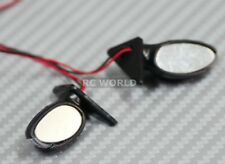 1/10 RC Car Truck SIDE VIEW MIRRORS w/ L.E.D Oval