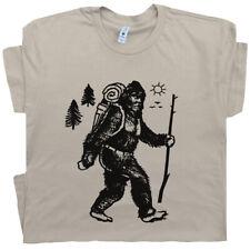 Bigfoot Hiking T Shirt Funny Sasquatch Cool Camping Men Women Appalachian Trail