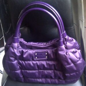 Kate Spade ALPINE HILLS PUFFY QUILTED NYLON STEVIE SATCHEL LARGE BAG PURSE $398