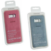 New Genuine Samsung Alcantara Suede Clip On Protective Galaxy S8+ Plus Case Cove