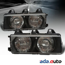 1992-1999 BMW 3 Series E36 Headlights Pair Lamps Left Right Side