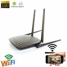 HD 4K Wifi IP Wireless Camera Home Router Hidden SPY Recorder With Night Version