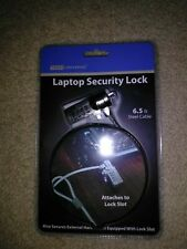 Tech Universe Laptop Security Lock 6.5 Ft. Steel Cable New