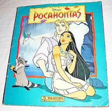 POCAHONTAS 1995 Walt Disney Panini italy - album figurine - sticker book