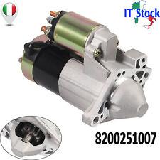 Motorino di Avviamento Ghisa Adatto per RENAULT CLIO 2 MEGANE II SCENIC 1.5 DCI