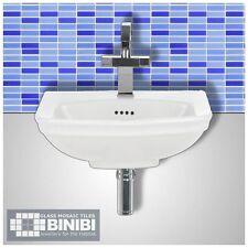 BRICK Glass Mosaic Tiles Bathrooms Kitchens Wall Floors SAMPLE 4B-121