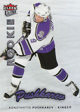 06-07 FLEER ULTRA ROOKIE RC #208 KONSTANTIN PUSHKAREV KINGS *2392