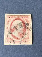 1852 NETHERLANDS STAMP SCOTT# 2